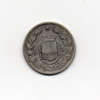 Italia - 1886 - 1 Lira - Umberto I° - Roma - Argento 835 - (MW1549) - 1861-1946 : Regno