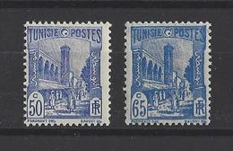 TUNISIE. YT  181/181A  Neuf **  1934 - Tunisia (1888-1955)