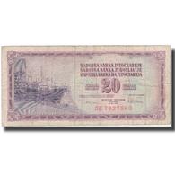 Billet, Yougoslavie, 20 Dinara, 1978, 1978-08-12, KM:88a, B+ - Yugoslavia