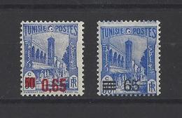 TUNISIE. YT  182/183A  Neuf **  1937 - Tunisia (1888-1955)