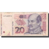 Billet, Croatie, 20 Kuna, 2001, 2001-03-07, KM:30a, TTB - Croacia