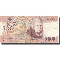 Billet, Portugal, 500 Escudos, 1989, 1989-10-04, KM:180c, TTB - Portugal