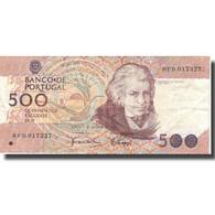 Billet, Portugal, 500 Escudos, 1989, 1989-10-04, KM:180c, TTB+ - Portugal