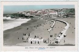 PRAIA  DAS  MACAS    UM  ASPECTO    2 SCAN  (SCRITTA) - Portogallo
