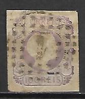 PORTUGAL    -    1856.    Y&T N° 8 Oblitéré. - 1855-1858 : D.Pedro V
