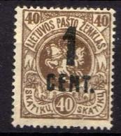 Litauen / Lietuva 1922 Mi 142 *  [071018I] - Lithuania