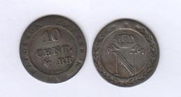 France  10 Centimes 1808 BB Faux D' époque 10c - France