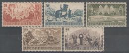 LIECHTENSTEIN:  N°177/181 **      - Cote 30€ - - Liechtenstein