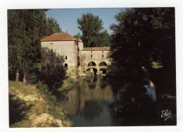 CPM Bagas Près De La Réole  Vieux Moulin à Eau Sur Le Dropt.ed : Elcé Num 7796 - France
