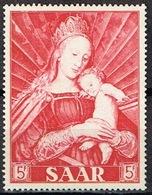 1954, AÑO DE MARIA, 5F, ** - 1947-56 Ocupación Aliada