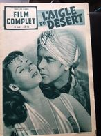 Film Complet Lot De 2 L'aigle Du Desert & La Belle Image - Journaux - Quotidiens