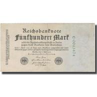 Billet, Allemagne, 500 Mark, 1923, 1922-07-07, KM:74b, TTB - [ 3] 1918-1933 : Repubblica  Di Weimar