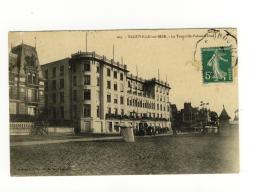 CPA Trouville Sur Mer Le Trouville Palace Hôtel - Trouville