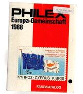Catalogue Philex  ( Catalogue Du Theme Europa Et Idées Européennes ) 1988 172 P - Germany
