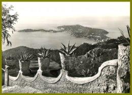 CPSM-photo Véritable -MAR -P89-EZE-VILLAGE -Vue Sur  Le Cap-FERRAT - Eze
