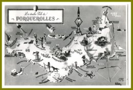 CPSM-photo EPE -La Doulce Isle De PORQUEROLLES - Porquerolles