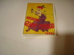 PUBLICITE ABSINTHE GEMPP PERNOD LUNEL - France