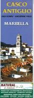 Spanien Marbella City Map Old Town Stadtplan Altstadt Faltblatt 4 Seiten - Reiseprospekte
