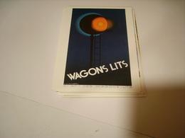 PUBLICITE WAGON LITS - Francia