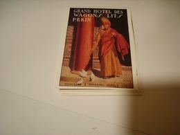 PUBLICITE GRAND HOTEL DES WAGONS LITS PEKIN - Non Classificati