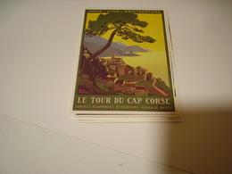 PUBLICITE LE TOUR DU CAP CORSE - Francia