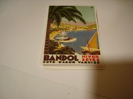 PUBLICITE BANDOL HIVER ETE - Francia