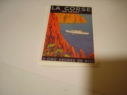 PUBLICITE LA CORSE EN YACHT - France