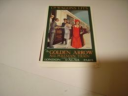 PUBLICITE WAGON LITS GOLDEN ARROW - Non Classificati