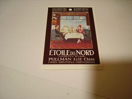 PUBLICITE WAGON LITS ETOILE DU NORD PULLMAN - France