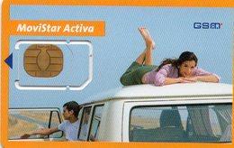 Carte De Téléphone Portable Sim - Movistar Activa - Telefonica - Espagne - Espagne