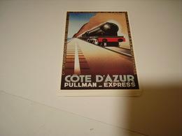 PUBLICITE COTE D AZUR PULLMAN EXPRESS - France
