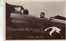 Aviateurs Dieudonné Costes Et Maurice Bellonte    -   CPA - Aviateurs