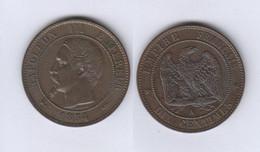 France  10 Centimes 1854 A 10c - France