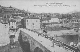 Laroquebrou Une Vue Du Pont Et Du Champ De Foire - Autres Communes