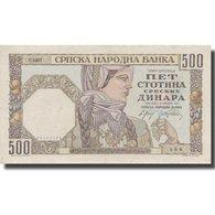 Billet, Serbie, 500 Dinara, 1941, 1941-05-01, KM:27b, SUP - Servië