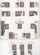 DECARIS 1263 ENSEMBLE VARIETES CONSTANTES - 1960 Marianne Of Decaris
