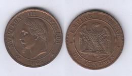 France  10 Centimes 1863 A 10c - France
