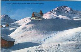 Kirchlein Inner-Arosa Gegen Weisshorn. Switzerland   S-4362 - VS Valais