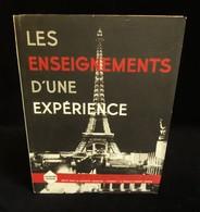 ( Paris Exposition Universelle De 1937 ) LES ENSEIGNEMENTS D'UNE EXPERIENCE Société ETERNIT PROUVY-THIANT ( NORD ) - France