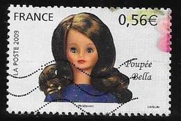 TIMBRE N° 4397   -   POUPEE BELLA    -  OBLITERE  -  2009 - Francia