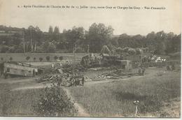 Après L'accident De Chemin De Fer Du 13 Juillet 1919, Entre Gray Et Chargey-le-Gray - Vue D'ensemble - Gray