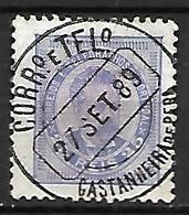 PORTUGAL    -    1882.    Y&T N° 60a Oblitéré. - 1862-1884 : D.Luiz I