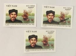 Vietnam Viet Nam MNH PERF, IMPERF & SPECIMEN Stamps 2018 : 150th Death Anniversary Of Nguyen Trung Truc (Ms1099) - Vietnam