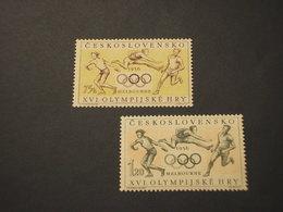 CECOSLOVACCHIA - 1956 SPORT  75 H - 1,20 - NUOVI(+) - Czechoslovakia