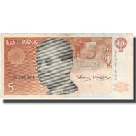 Billet, Estonia, 5 Krooni, 1992, 1992, KM:71b, TB+ - Estonie