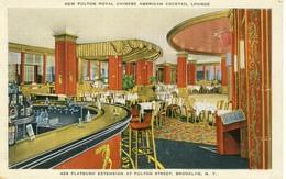 New Fulton Royal Chinese American Cocktail Lounge  Flatbush Extension At Fulton Steet Brooklyn N.Y  Cpa - Brooklyn Park