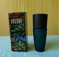 """Miniature """"HAVANA """"de ARAMIS Eau De Toilette 7 Ml Dans Sa Boite (M076) - Modern Miniatures (from 1961)"""
