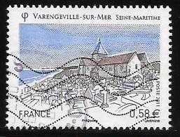TIMBRE N° 4562    -   VARENGEVILLE S/MER  -  OBLITERE  -  2011 - Used Stamps
