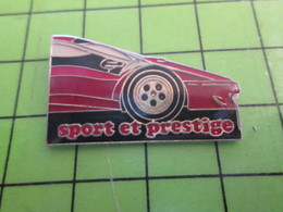 1118B Pin's Pins / Rare Et De Belle Qualité / THEME AUTOMOBILE : 1/2 FERRARI ROUGE SPORT ET PRESTIGE - Ferrari
