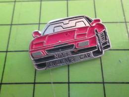 1118B Pin's Pins / Rare Et De Belle Qualité / THEME AUTOMOBILE : FERRARI ? NIMES EMBLEM'S CAR - Ferrari